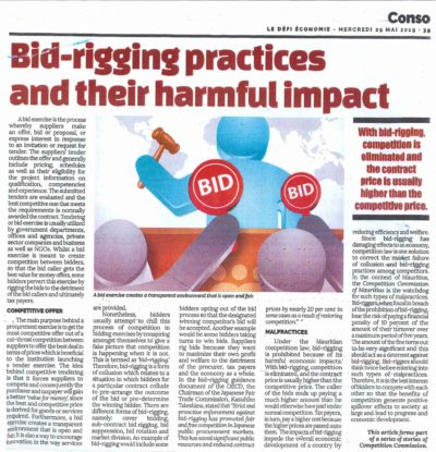 BID-RIGGING PRACTICES AND THEIR HARMFUL IMPACT​