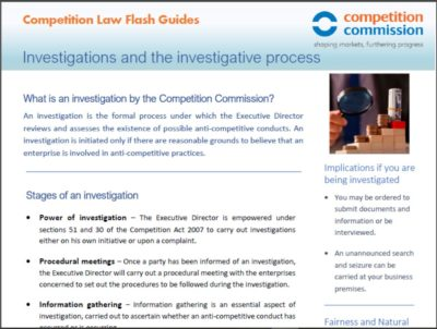 Investigations and the investigative process