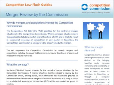 Merger Review by the Commission