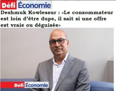 Defi Economie, 10 October 2019