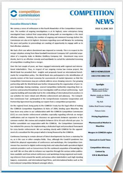 Newsletter Issue 4, June 2021